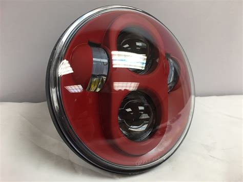 5 3/4″ Daymaker Replacement Red Projector Hid Led Light Bulb Headlight Motorcycle Harley 5.75 2004 Toyota Corolla Brakes Brake System Parts Lexus Rx330 Pads Ss Lines Hydraulic Vacuum Bleeder How Much For And Rotors Replaced Go Kart Setup