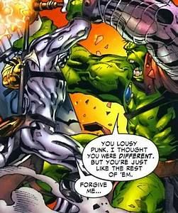 Silver Surfer vs Hulk (read first) - Battles - Comic Vine