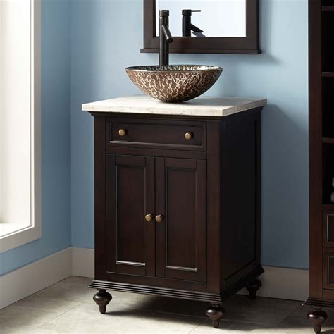 keller mahogany vessel sink vanity dark espresso