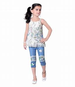 Jazzup Multicolour Top And Jeans For Girls - Buy Jazzup Multicolour Top And Jeans For Girls ...