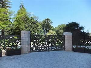 Portail En Aluminium : portail design en aluminium kolibry ~ Melissatoandfro.com Idées de Décoration