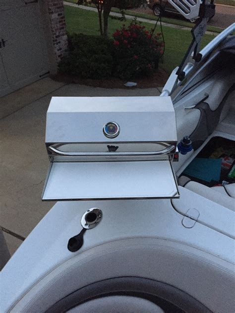 Boat Grill Holder by Which Grill For Boat Jet Boaters Community Forum