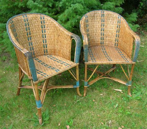 comment peindre un fauteuil en rotin paire de fauteuils ancien en rotin