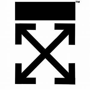 """Off-white logo arrows "" Canvas Prints by Lil Esketit"
