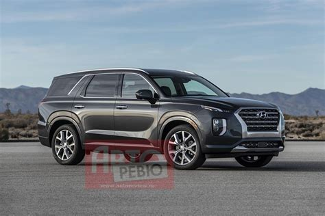Hyundai Ute 2020 by 2020 Hyundai Palisade Looks Larger Than In Leaked