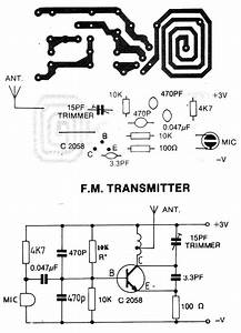 Circuit zonecom electronic projects electronic for 3v fm transmitter