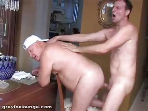 Older Man Bareback Fucked