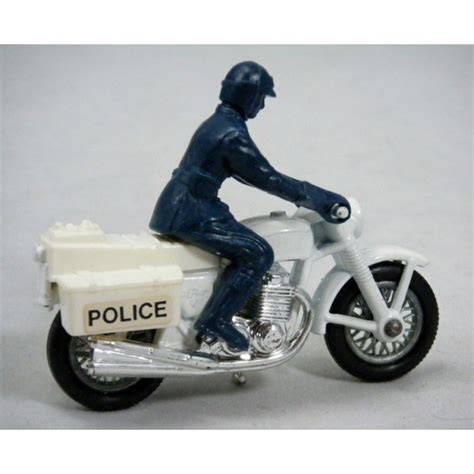 matchbox honda matchbox honda 750 police motorcycle global diecast direct