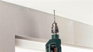 Rail A Rideau : fixer un rail pour rideaux au plafond ~ Louise-bijoux.com Idées de Décoration