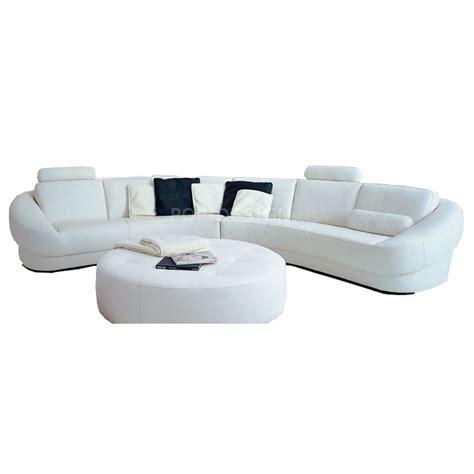canape en angle canapé d 39 angle design en cuir aquila pouf pop design fr