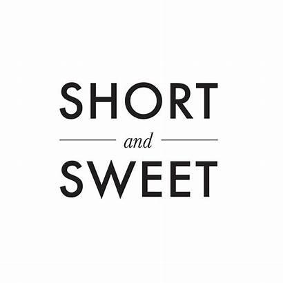 Short Sweet Bridestory Invitations
