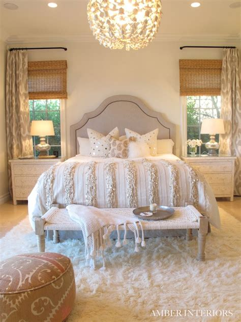 gorgeous master bedrooms moroccan headboard mediterranean bedroom amber interiors 11707 | e48cc348b1f1