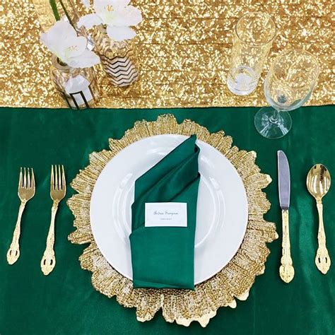 Green wedding decorations by Michelle Valfre on Wedding