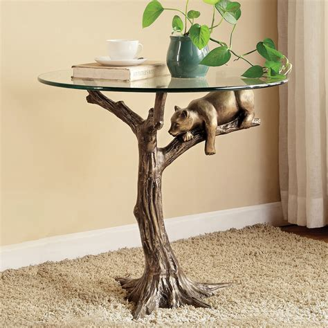 resting bear  table
