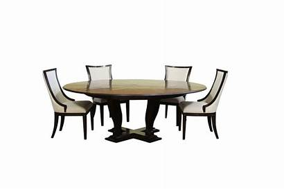 Chairs Transitional Dining Upholstered Round Table Oak