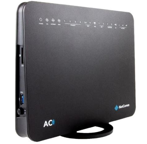 netcomm nlacv ac gigabit modem router