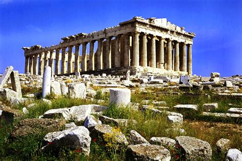 The Historical Acropolis Kingdom Of Greece Beautiful