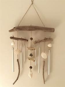 Mobile Bois Flotté : carillon en bois flott par l 39 atelier de corinne r serv ~ Farleysfitness.com Idées de Décoration