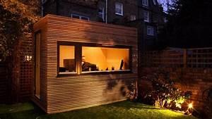 Construire Un Bureau : ceci n est pas une cabane mais un bureau travailler dans votre jardin ~ Melissatoandfro.com Idées de Décoration