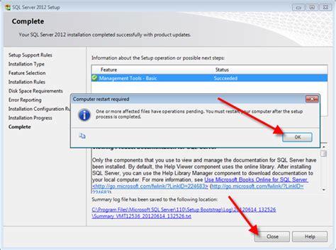 Install Microsoft Sql Server 2012 Management Studio [q13907]