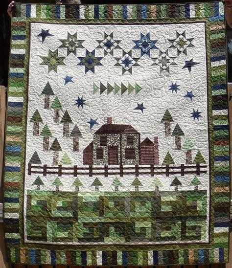 home design magazines peace cottage quilt kit 66 1 2 x 81