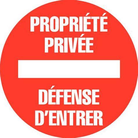 sous de bureau panneau d 39 interdiction propriété privée défense d 39 entrer