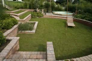 Cout Terrassement Terrain En Pente by Jardin En Pente Comment G 233 Rer Un D 233 Nivel 233 Mon
