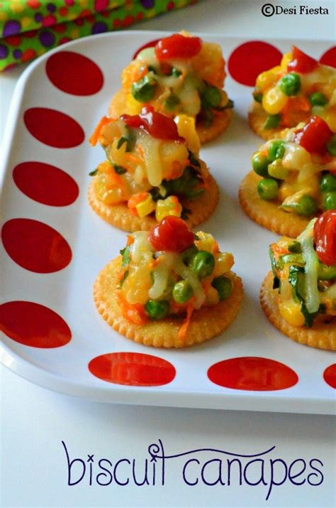canape biscuit biscuit canapes with vegetable topping monaco canapes