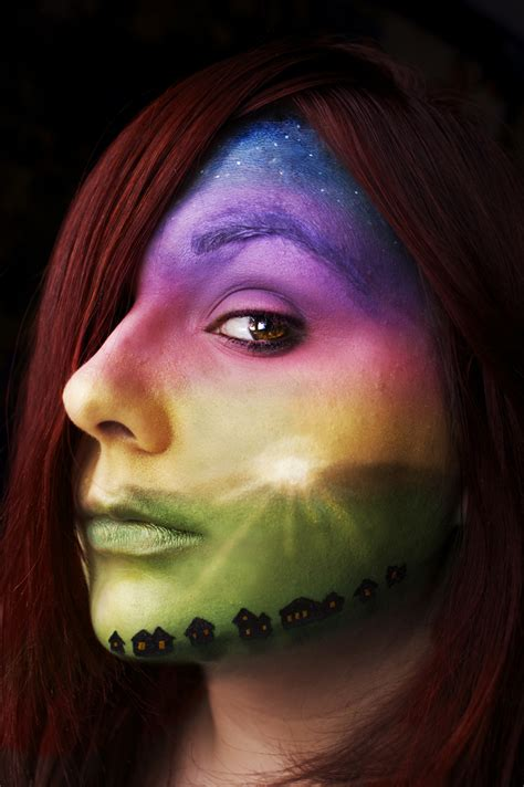 Lovely Body Painting And Skin Works Of Art ~ FunGur.BlogSpot.com