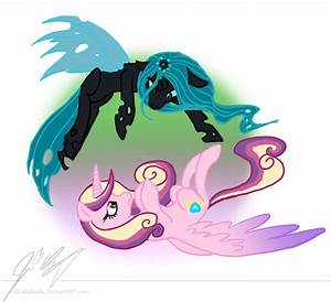 .:Queen Chrysalis and Princess Cadance:. by ALittleRiddle ...