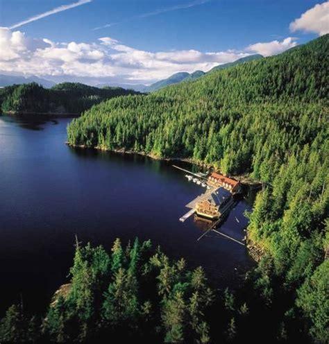 pacific columbia british lodge water canada king heaven unusual resorts telegraph travel hotels wilderness