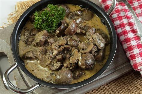 cuisines rognon recette rognons de veau au genièvre