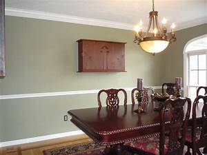 dining rooms with chair rails rumah minimalis With dining room paint colors with chair rail