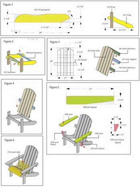 Upcyled Furniture by Adirondack Chair Plans Pallet Pdf Plans Cabin Floor Plan