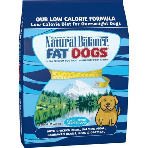 natural balance fat dogs  calorie dry dog food petflow