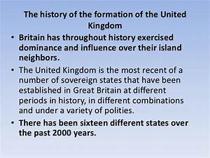 5. formation of the uk