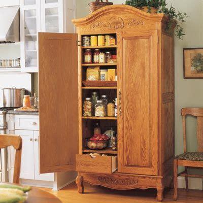 armoire pantry ideas  pinterest  standing pantry kitchen armoire  bookshelf