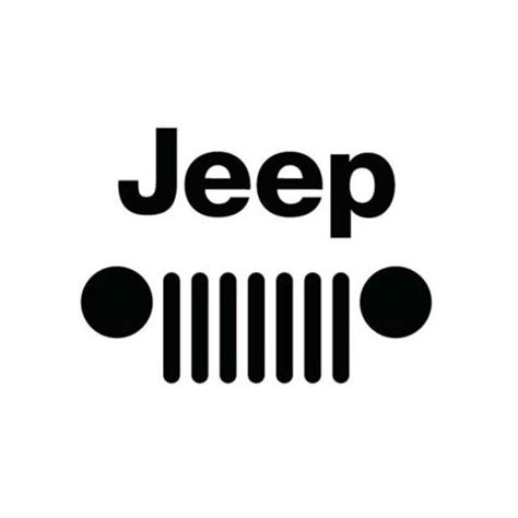 jeep front logo jeep logo clipart clipart suggest