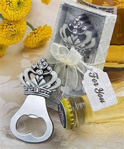 wedding favor bottle opener crown design bottle opener wedding favors