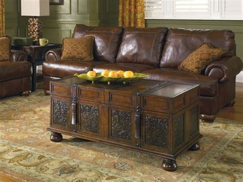 trunk coffee table design images  pictures