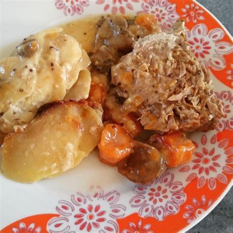 cuisine roti de porc la ptite cuisine de rôti de porc à la moutarde et au
