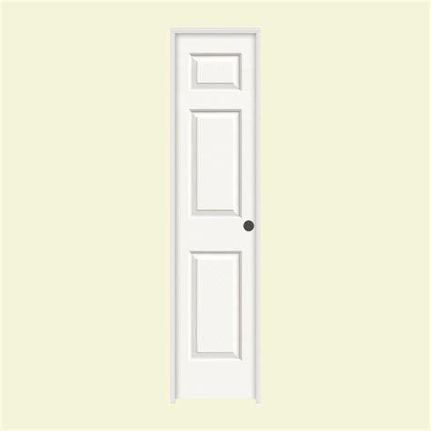 interior doors home depot jeld wen 18 in x 80 in molded textured 6 panel brilliant