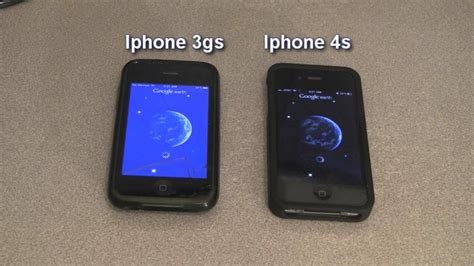 and iphone iphone 3gs vs iphone 4s speed test