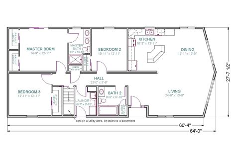 21 wonderful basement floor plans for ranch style homes