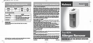 Holmes Hap706 User Manual