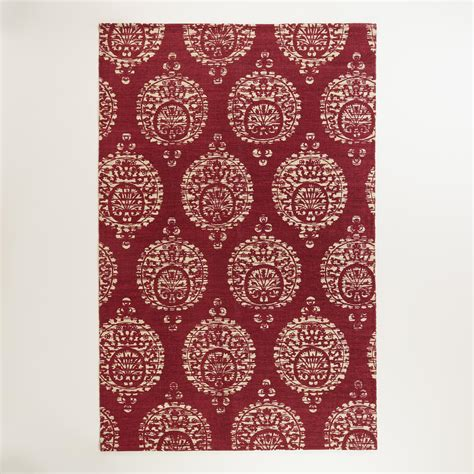 rugs world market 5 x8 marielle rust medallion jute area rug world market