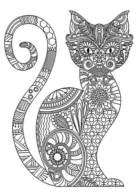 disegni da colorare per adulti da stare gatti 593 gatti disegni da colorare per adulti