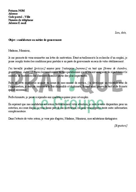 lettre motivation femme de chambre hotel lettre de motivation femme de chambre lettre de motivation