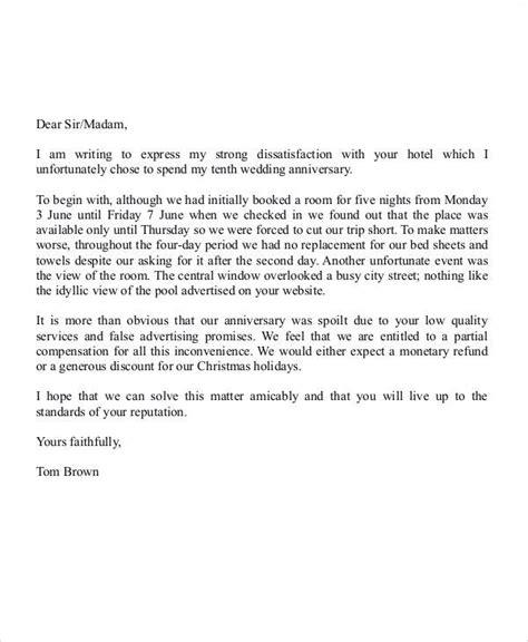 letter  dissatisfaction resignation letter   job