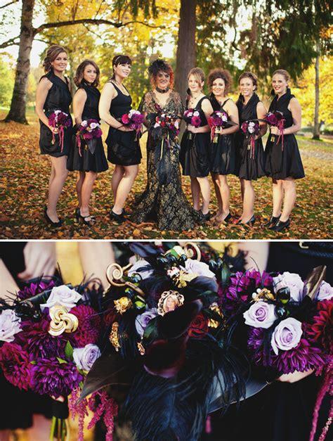 Halloween Masquerade Wedding